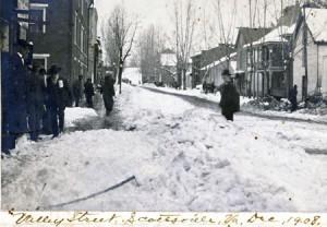 Valley Street, Scottsville, 1908Courtesy: Jack Hamner