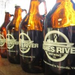 James River Brewey Growlers